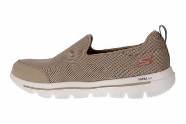 Skechers GO WALK EVOLUTION ULTRA REACH Sneakers in Übergrößen Grau 15730 TPE große Damenschuhe – Bild 1