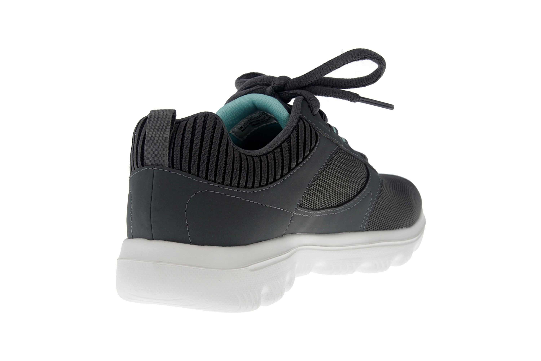 Skechers GO WALK EVOLUTION ULTRA ENHANCE Sneakers in Übergrößen Grau 15734 CCLB große Damenschuhe – Bild 3