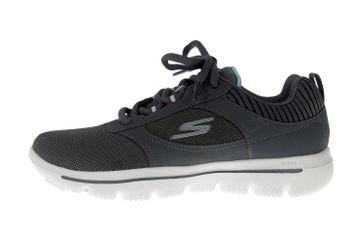 Skechers GO WALK EVOLUTION ULTRA ENHANCE Sneakers in Übergrößen Grau 15734 CCLB große Damenschuhe – Bild 1