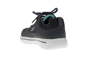 Skechers GO WALK EVOLUTION ULTRA ENHANCE Sneakers in Übergrößen Grau 15734 CCLB große Damenschuhe – Bild 2