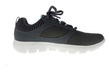 Skechers GO WALK EVOLUTION ULTRA ENHANCE Sneakers in Übergrößen Grau 15734 CCLB große Damenschuhe – Bild 4