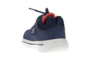 Skechers GO WALK EVOLUTION ULTRA ENHANCE Sneakers in Übergrößen Blau 15734 NVCL große Damenschuhe – Bild 2