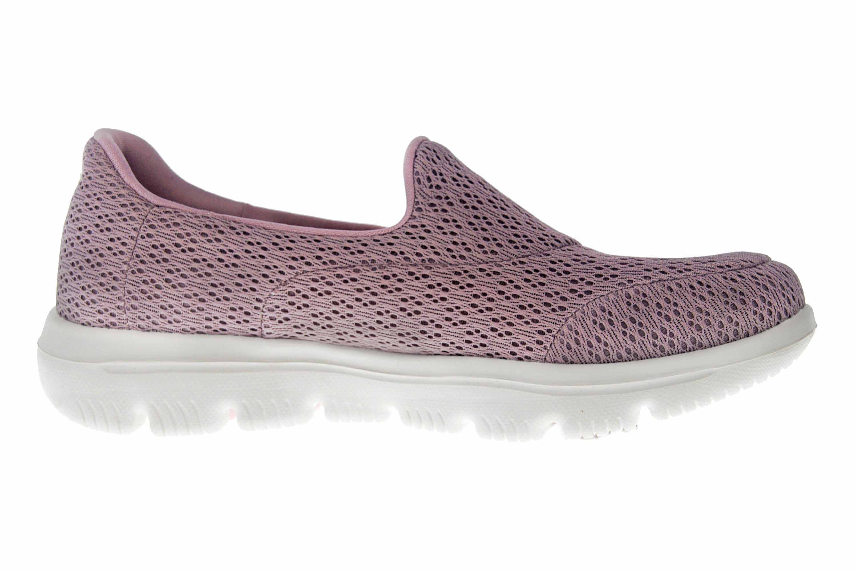 Skechers GO WALK EVOLUTION ULTRA Sneakers in Übergrößen Rosa 15738 MVE große Damenschuhe – Bild 4