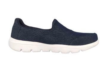 Skechers GO WALK EVOLUTION ULTRA BELIEF-X Sneakers in Übergrößen Blau 15739 NVW große Damenschuhe – Bild 4