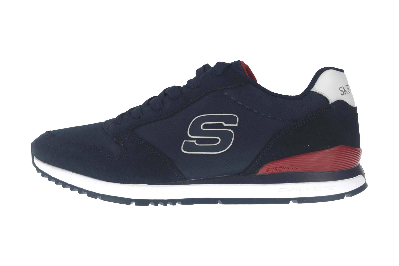 Skechers SUNLITE WALTAN Sportschuhe in Übergrößen Blau 52384 NVY große Herrenschuhe – Bild 1
