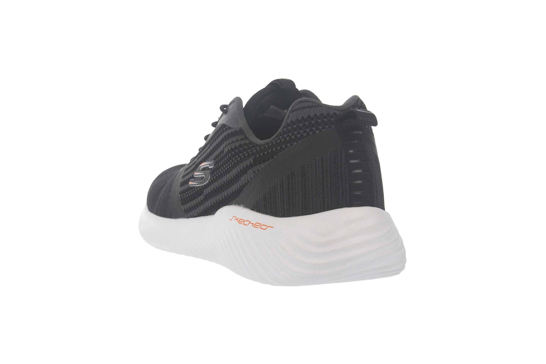 Skechers BOUNDER Sneakers in Übergrößen Schwarz 52504 BLK große Herrenschuhe – Bild 2
