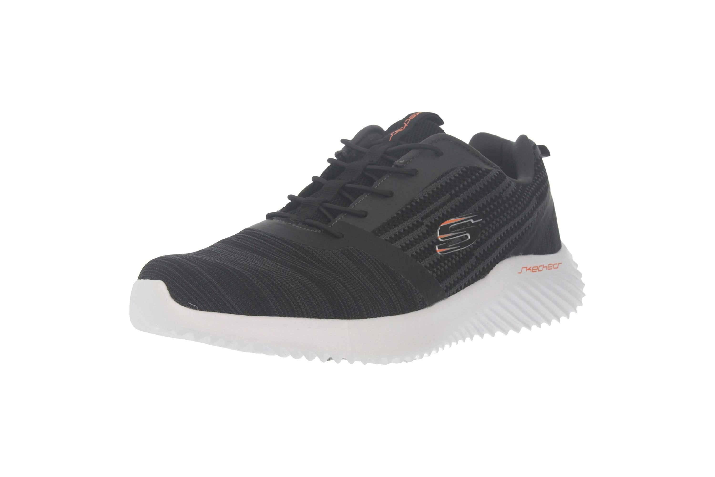 Skechers BOUNDER Sneakers in Übergrößen Schwarz 52504 BLK große Herrenschuhe – Bild 6