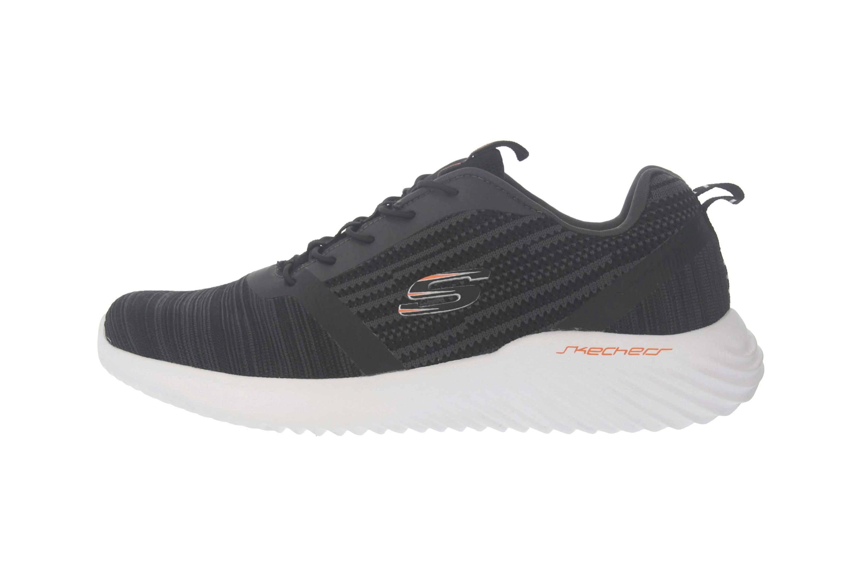 Skechers BOUNDER Sneakers in Übergrößen Schwarz 52504 BLK große Herrenschuhe – Bild 1