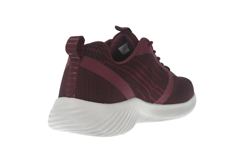 Skechers BOUNDER Sneakers in Übergrößen Rot 52504 BURG große Herrenschuhe – Bild 3