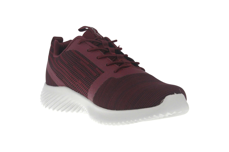 Skechers BOUNDER Sneakers in Übergrößen Rot 52504 BURG große Herrenschuhe – Bild 5