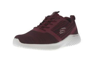 Skechers BOUNDER Sneakers in Übergrößen Rot 52504 BURG große Herrenschuhe – Bild 6