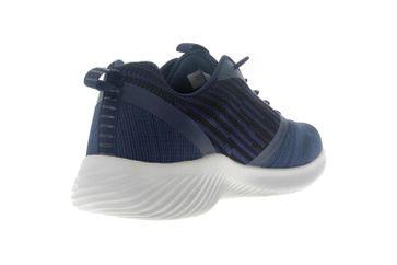 Skechers BOUNDER Sneakers in Übergrößen Blau 52504 NVY große Herrenschuhe – Bild 3
