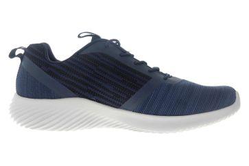 Skechers BOUNDER Sneakers in Übergrößen Blau 52504 NVY große Herrenschuhe – Bild 4