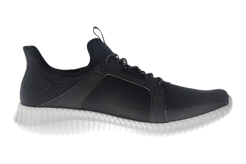 Skechers ELITE FLEX Sneakers in Übergrößen Schwarz 52640 BKGY große Herrenschuhe – Bild 4