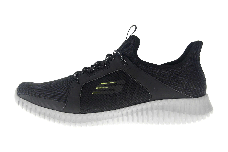 Skechers ELITE FLEX Sneakers in Übergrößen Schwarz 52640 BKGY große Herrenschuhe – Bild 1