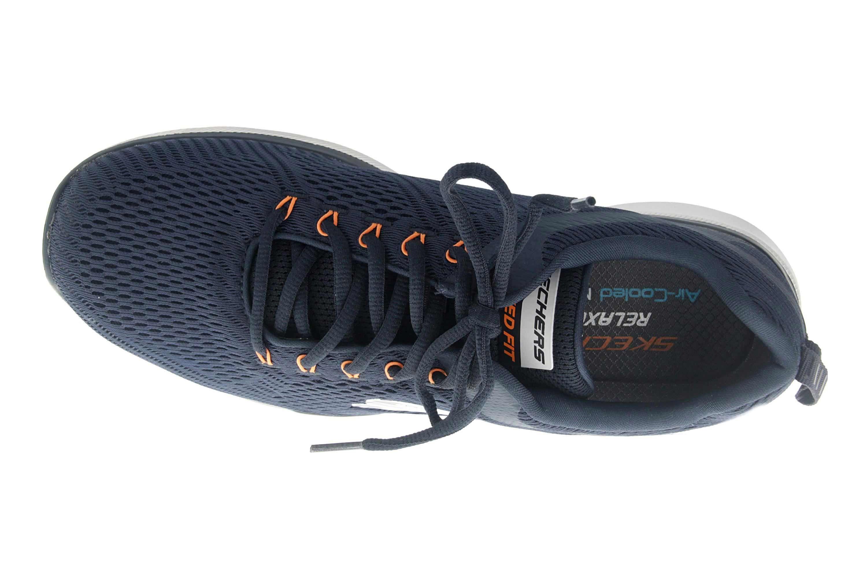Skechers EQUALIZER 3.0 Sportschuhe in Übergrößen Blau 52927EWW NVOR große Herrenschuhe – Bild 7