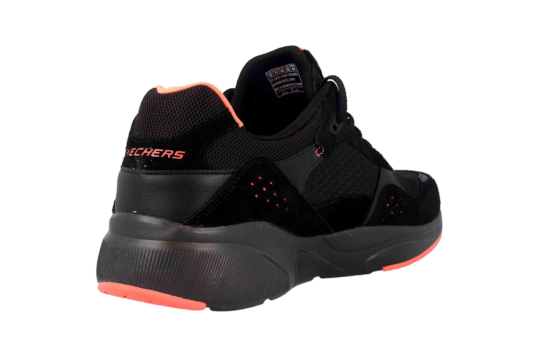 Skechers MERIDIAN Sneakers in Übergrößen Schwarz 52952 BKCL große Herrenschuhe – Bild 3