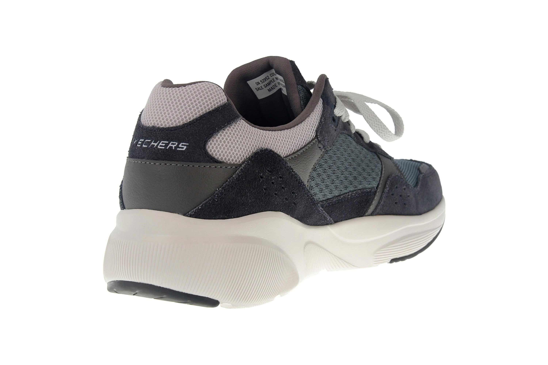 Skechers MERIDIAN Sneakers in Übergrößen Blau 52952 NVBL große Herrenschuhe – Bild 3