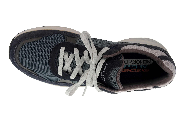 Skechers MERIDIAN Sneakers in Übergrößen Blau 52952 NVBL große Herrenschuhe – Bild 7