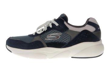 Skechers MERIDIAN Sneakers in Übergrößen Blau 52952 NVBL große Herrenschuhe