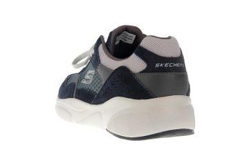 Skechers MERIDIAN Sneakers in Übergrößen Blau 52952 NVBL große Herrenschuhe – Bild 2
