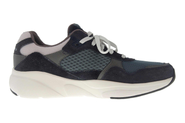 Skechers MERIDIAN Sneakers in Übergrößen Blau 52952 NVBL große Herrenschuhe – Bild 4