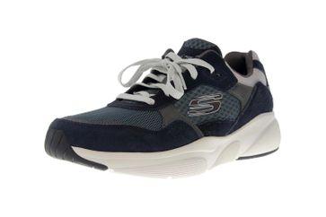 Skechers MERIDIAN Sneakers in Übergrößen Blau 52952 NVBL große Herrenschuhe – Bild 6