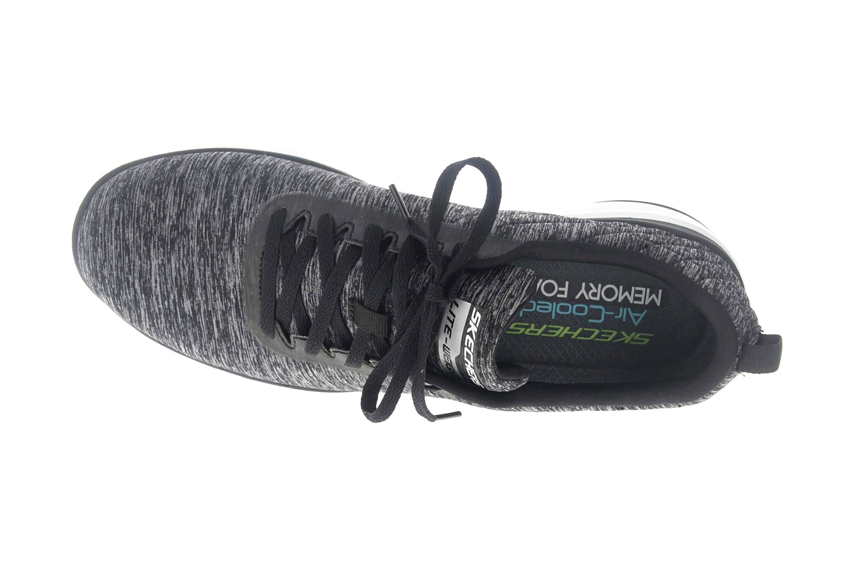 Skechers FLEX ADVANTAGE 3.0 JECTION Sportschuhe in Übergrößen Schwarz 52956 BKW große Herrenschuhe – Bild 7