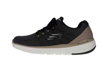Skechers FLEX ADVANTAGE 3.0 STALLY Sportschuhe in Übergrößen Schwarz 52957 BLK große Herrenschuhe – Bild 1
