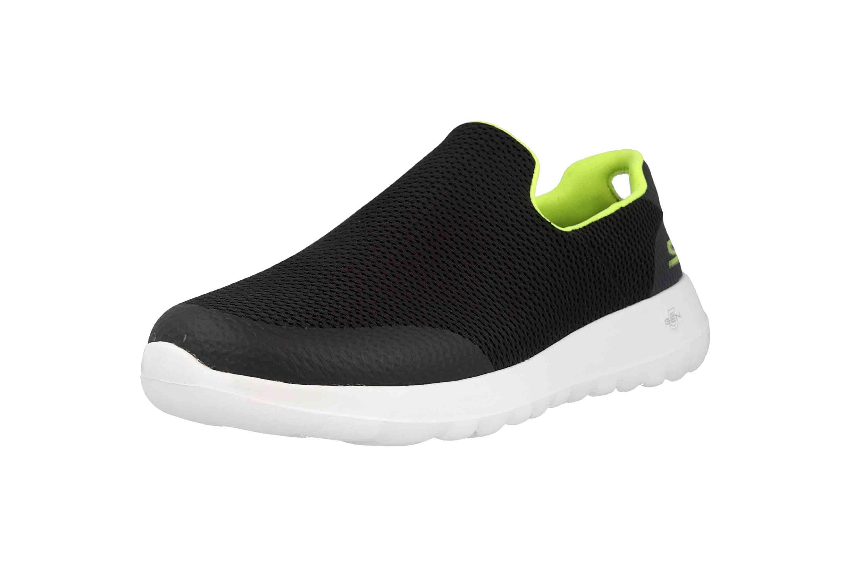 Skechers GO WALK MAX FOCAL Sneakers in Übergrößen Schwarz 54637 BKLM große Herrenschuhe – Bild 6
