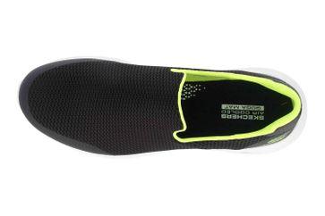 Skechers GO WALK MAX FOCAL Sneakers in Übergrößen Schwarz 54637 BKLM große Herrenschuhe – Bild 7