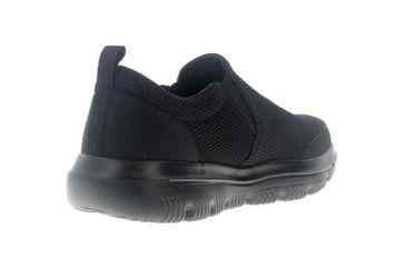 Skechers GO WALK EVOLUTION ULTRA IMPECCABLE Sneakers in Übergrößen Schwarz 54738 BBK große Herrenschuhe – Bild 3