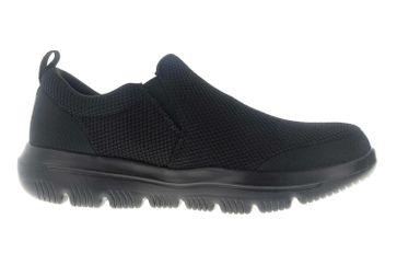 Skechers GO WALK EVOLUTION ULTRA IMPECCABLE Sneakers in Übergrößen Schwarz 54738 BBK große Herrenschuhe – Bild 4