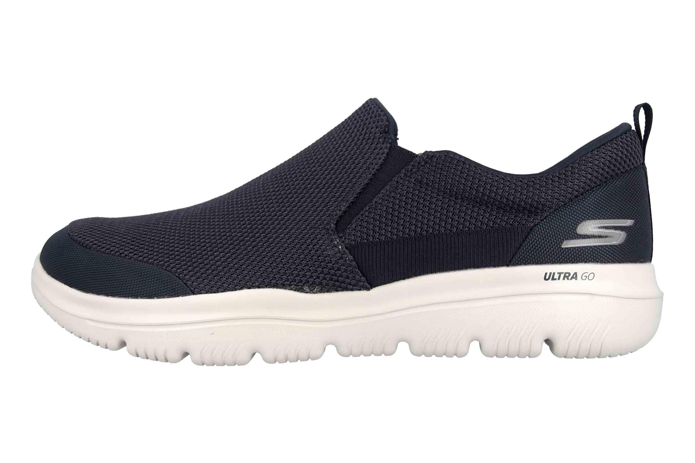 Skechers GO WALK EVOLUTION ULTRA IMPECCABLE Sneakers in Übergrößen Blau 54738 NVGY große Herrenschuhe – Bild 1