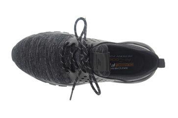 Skechers RELVEN VELTON Sneakers in Übergrößen Schwarz 65659 BBK große Herrenschuhe – Bild 7