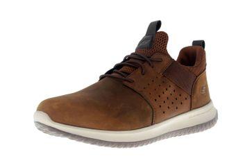 Skechers DELSON AXTON Sneakers in Übergrößen Braun 65870 CDB große Herrenschuhe – Bild 6