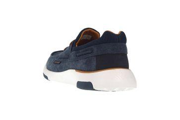 Skechers BELLINGER GARMO Sneakers in Übergrößen Blau 65896 NVY große Herrenschuhe – Bild 2