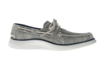 Skechers STATUS 2.0 LORANO Sneakers in Übergrößen Grau 65908 LTGY große Herrenschuhe – Bild 4