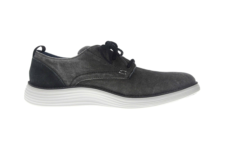 Skechers STATUS 2.0 PEXTON Sneakers in Übergrößen Schwarz 65910 BLK große Herrenschuhe – Bild 4