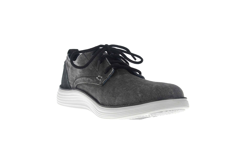 Skechers STATUS 2.0 PEXTON Sneakers in Übergrößen Schwarz 65910 BLK große Herrenschuhe – Bild 5