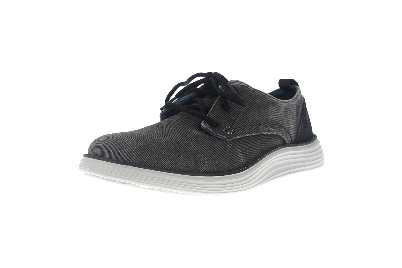 Skechers STATUS 2.0 PEXTON Sneakers in Übergrößen Schwarz 65910 BLK große Herrenschuhe – Bild 6