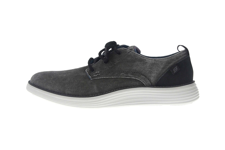 Skechers STATUS 2.0 PEXTON Sneakers in Übergrößen Schwarz 65910 BLK große Herrenschuhe – Bild 1