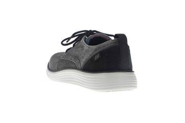 Skechers STATUS 2.0 PEXTON Sneakers in Übergrößen Schwarz 65910 BLK große Herrenschuhe – Bild 2