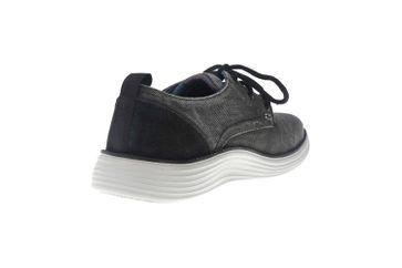 Skechers STATUS 2.0 PEXTON Sneakers in Übergrößen Schwarz 65910 BLK große Herrenschuhe – Bild 3