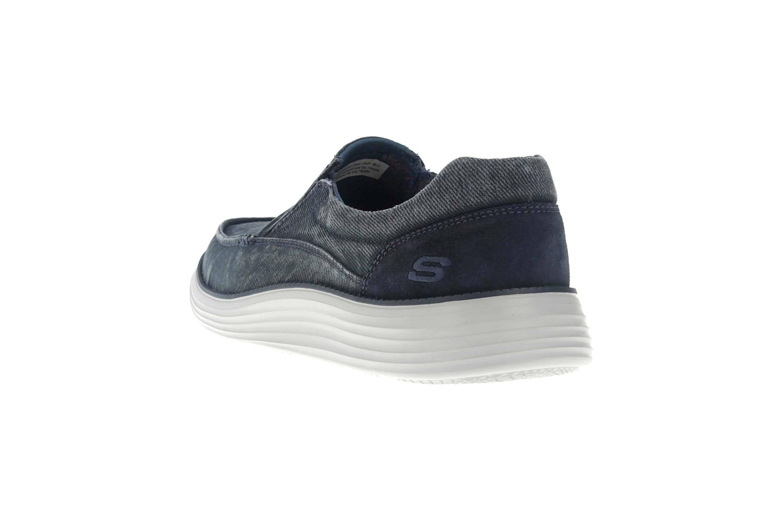 Skechers STATUS 2.0 MOSENT Sneakers in Übergrößen Blau 66014 BLU große Herrenschuhe – Bild 2