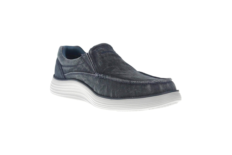 Skechers STATUS 2.0 MOSENT Sneakers in Übergrößen Blau 66014 BLU große Herrenschuhe – Bild 5