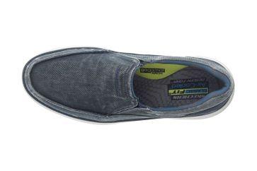 Skechers STATUS 2.0 MOSENT Sneakers in Übergrößen Blau 66014 BLU große Herrenschuhe – Bild 7