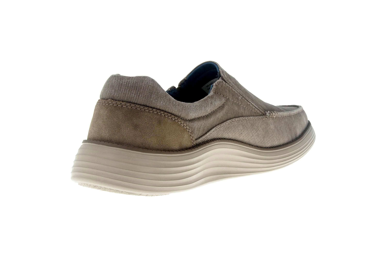 Skechers STATUS 2.0 MOSENT Sneakers in Übergrößen Grün 66014 KHK große Herrenschuhe – Bild 3