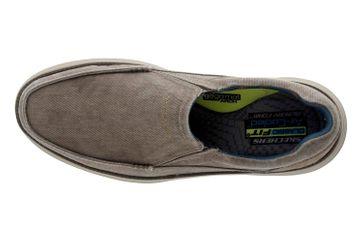 Skechers STATUS 2.0 MOSENT Sneakers in Übergrößen Grün 66014 KHK große Herrenschuhe – Bild 7