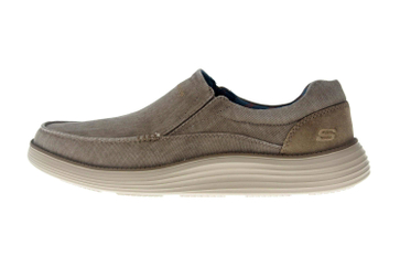 Skechers STATUS 2.0 MOSENT Sneakers in Übergrößen Grün 66014 KHK große Herrenschuhe – Bild 1